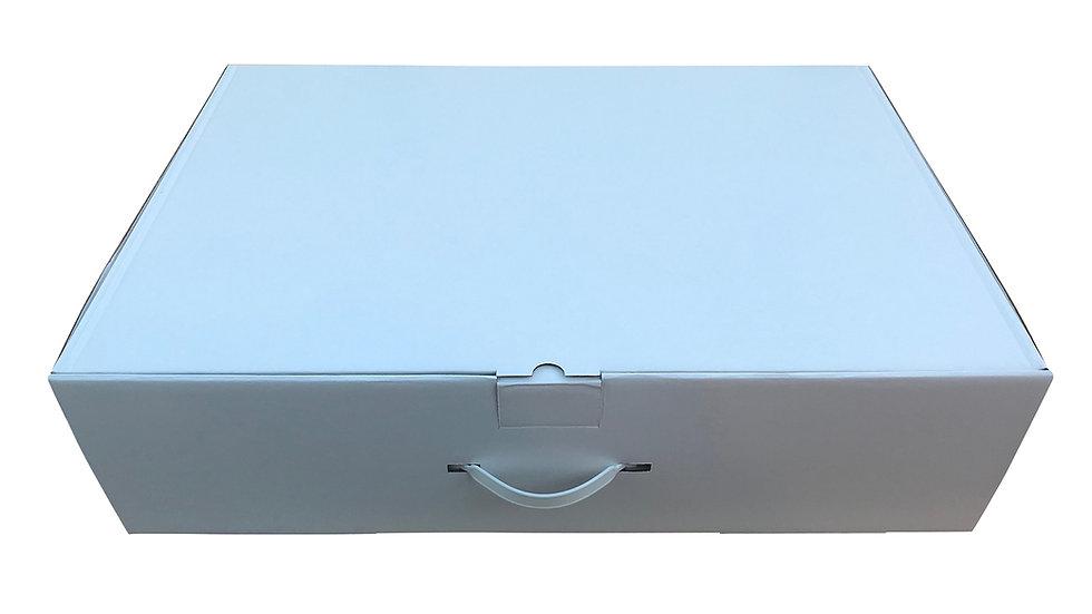 Wedding dress storage box XL 77x50x20cm + 20 acid free tissue