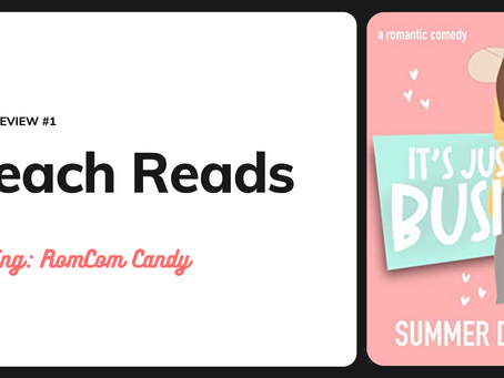 Beach Reads Book Review 1: It's Just Business by Summer Dowell