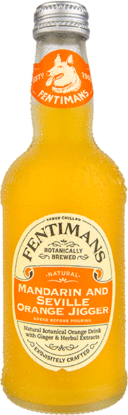 Soda  Mandarine & orange jigger -Fentimans