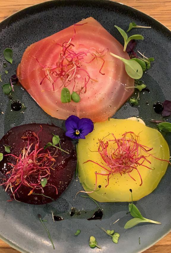Art culinaire par Rebecca Lookwood - palette d'artiste  photo FTLOF