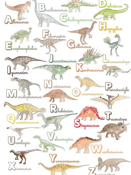 Abécédaire Dinosaures