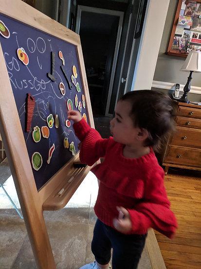 Child size Magnetic Chalkboard