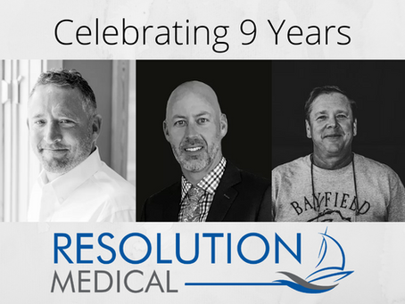 Celebrating 9 Years of Resolution Medical