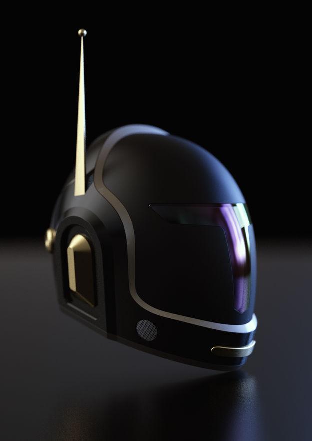 Star Wars x Daft Punk Concept