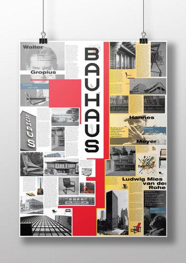 Bauhaus Cenennial Poster / 2019
