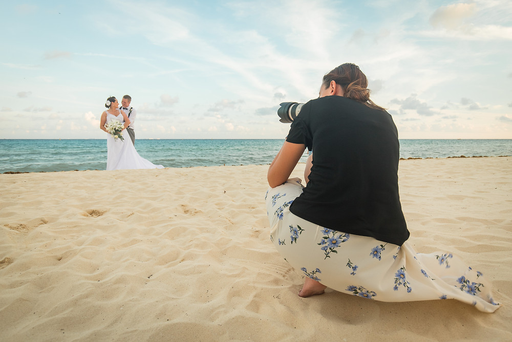 Destination Wedding Photographer, Behind the Scenes