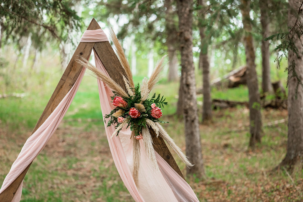 wedding arch floral ideas