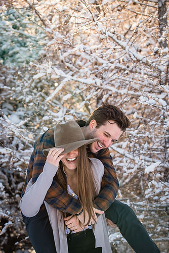 Winter Couple Session