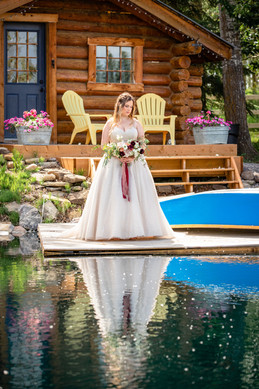 Pine and Pond Wedding, Calgary Wedding Photographers