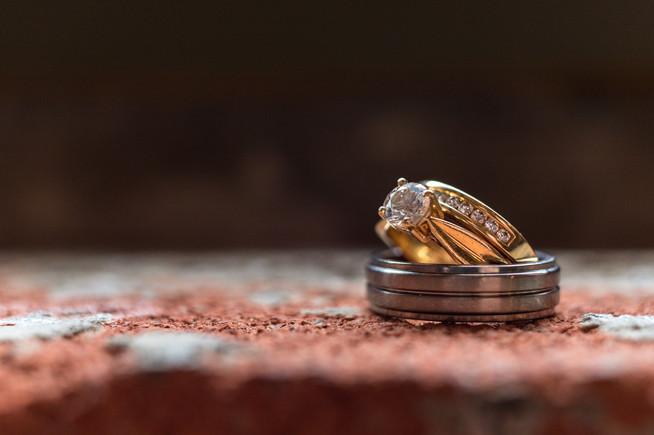Calgary Char Bar Wedding Reception Ring Portraitt