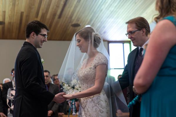 Highwood Lutheran Church Wedding, Bride and Groom vows