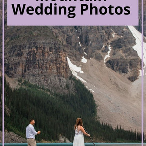Stunning Mountain Wedding Photos
