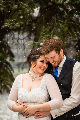 Star wars winter wedding, Calgary Wedding Photographer
