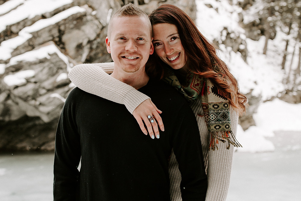 Banff elopement photography and videography team