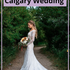 Backyard Fairy Tale Calgary Wedding