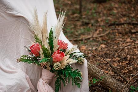 Unique wedding bouquet, wedding flowers, floral shot