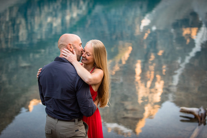 Calgary Wedding Photography, Moraine Lake Engagement