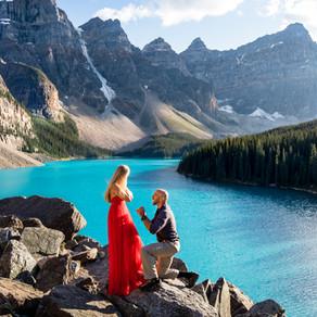 Epic Surprise Proposal – Moraine Lake