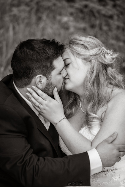 black and white, wedding ring, bride and groom