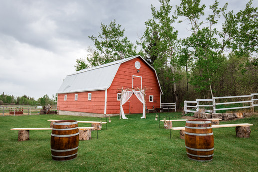 Hill Rise Ranch Weddings, Barnyard, Wedding venue