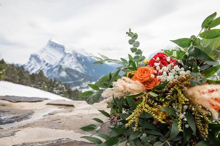 Wedding flowers, floral scenery, wedding bouquet