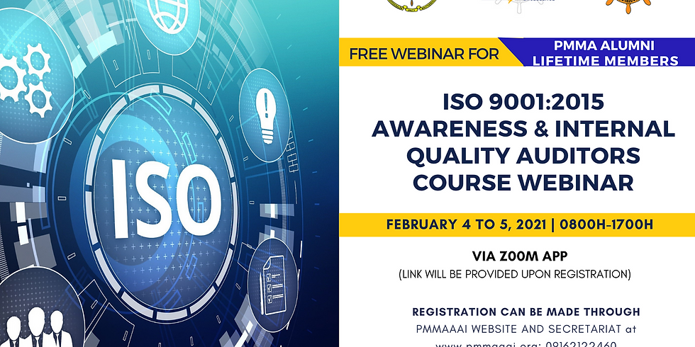 ISO 9001:2015 Awareness & Internal Quality Auditors Course