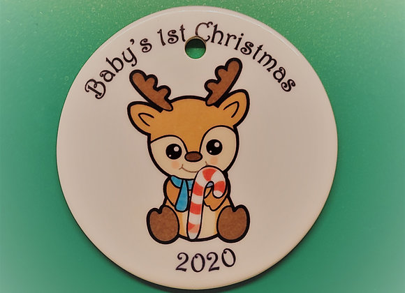 Baby's 1st Christmas -Reindeer