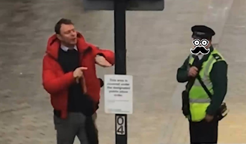 How many British films can you name with a traffic warden?