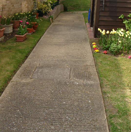 pathways maintenance in gardens