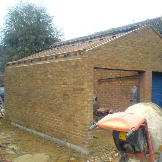 Garage construction Hertford