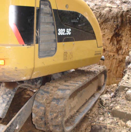Hard landscaping excavation Hertford