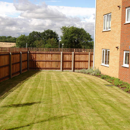 Neat Lawns and perfect fences