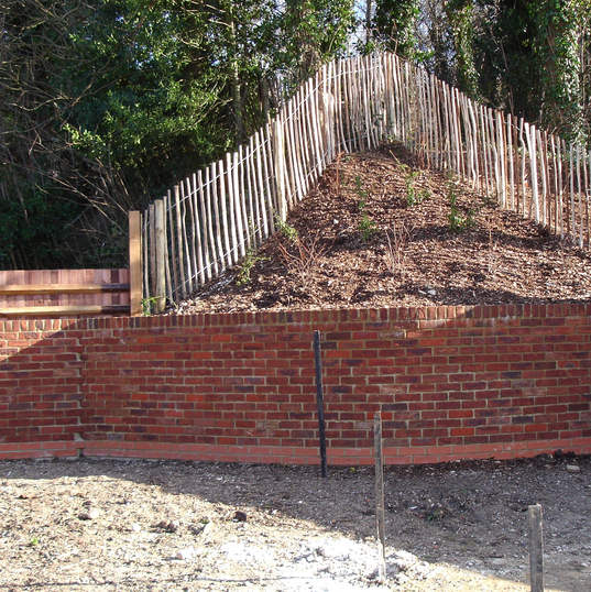 Foxholes Avenue Large lanscaping project
