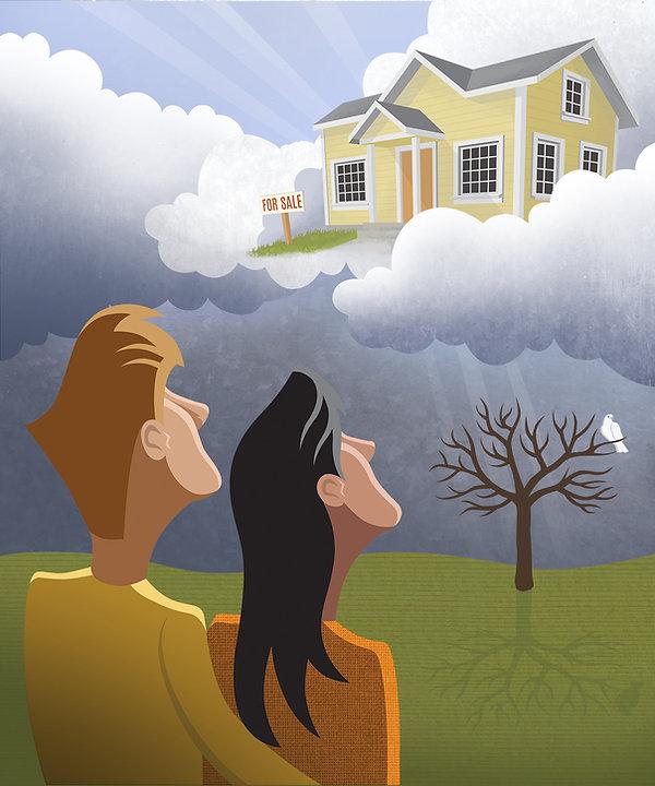 Hope for The American Dream - Jim Dixon Illustration