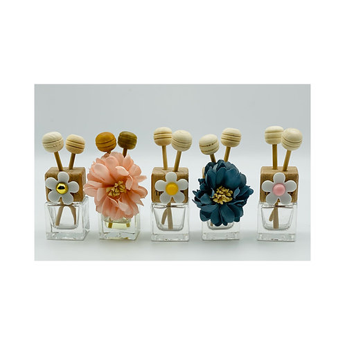 Floral Car Fresheners (with vent clips)