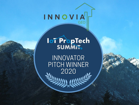 Winner of the IoT PropTech Pitch Competition!