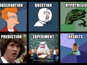 Science experiment vs. science demonstration