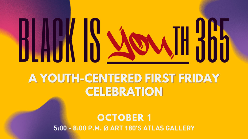 Join us 10/1 for a youth focused First Friday event!
