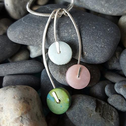 Triple Dot Necklace (Custom Available)