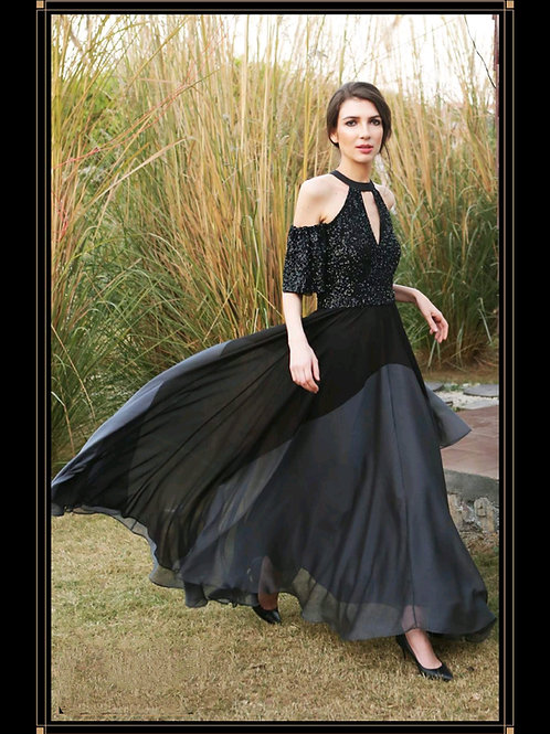 Black Graded Gown