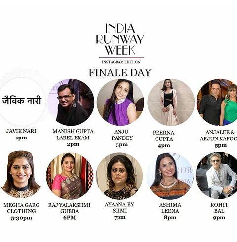 India Runway Week / Prerna Gupta