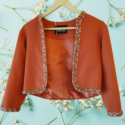 Rustic Orange Short Jacket