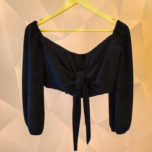 Crop Top with Front Knot