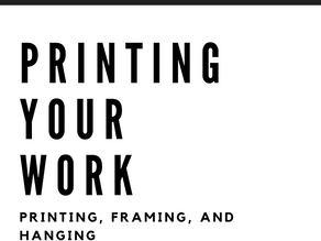 Printing Your Work