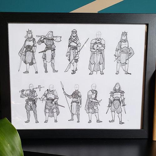 Armor Line-up
