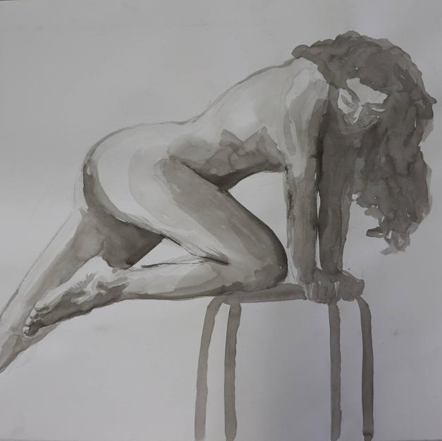 Study of a Woman on a Chair