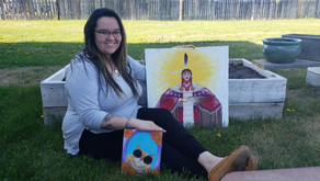 Local Artist Joins Kamloops Arts Council as Indigenous Arts Intern