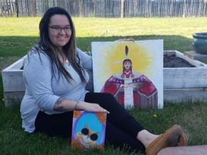 Local Artist Joins Kamloops Arts Council as Indigenous Arts Intern