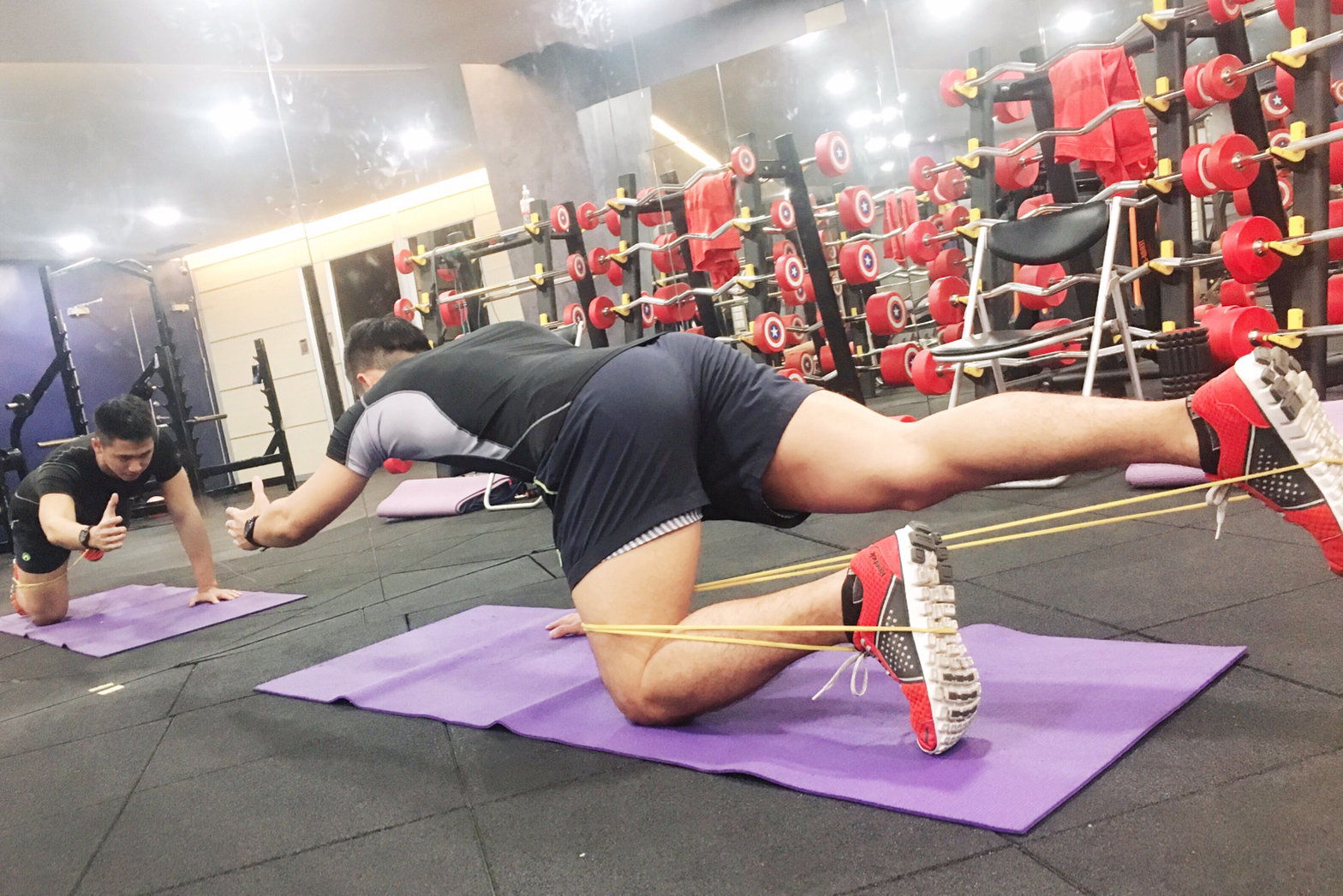 鐵人肌力訓練(二)