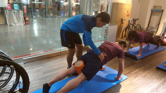 【課程筆記系列】跑者核心--深前線練習(貫穿上肢到下肢訓練)